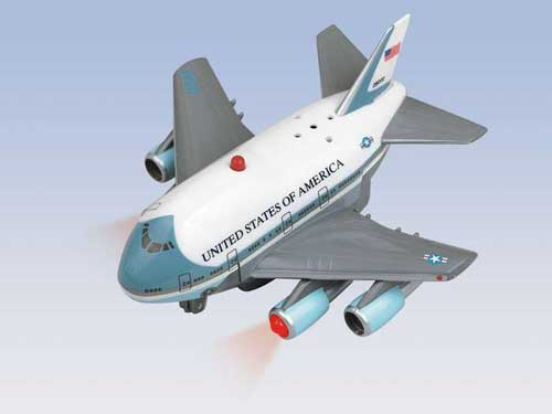 Air Force One Pullback W/LIGHT & Sound, Toytech Item Number TT686