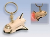 Space Shuttle Keychain W/LIGHT & Sound, Toytech Item Number TT80477