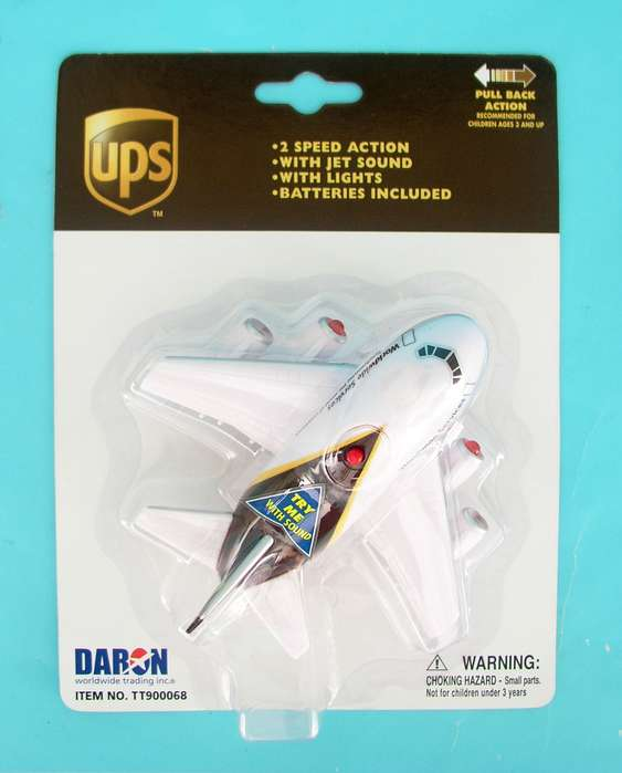 UPS Pullback W/LIGHT & Sound, Toytech Item Number TT900068