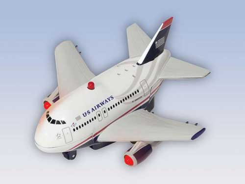 US Airways Pullback W/LIGHT & Sound New Livery, Toytech Item Number TT902