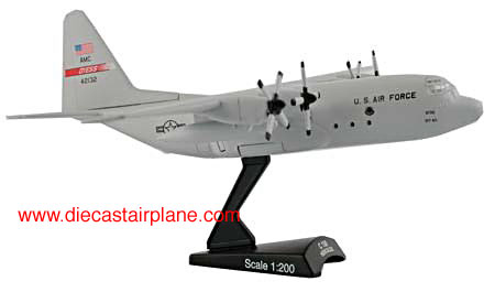 C-130 Hercules USAF Dyess AFB (1:200), Model Power Diecast Planes Item Number MP5330
