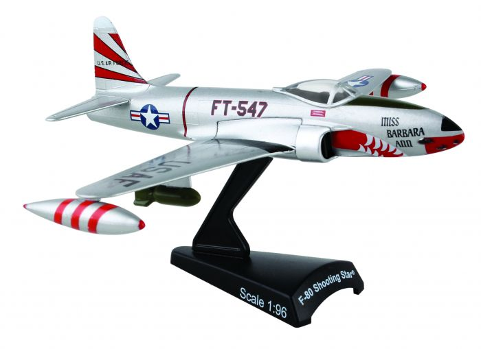 F-80 Shooting Star 1:80 by Postage Stamp Diecast Planes item number: PS5392-1