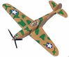 "P-40 Warhawk (Approx. 3.5""), Motormax Diecast Item Number DS-P40"