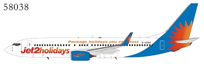 "Jet2 Holidays 737-800/w G-JZHA with ""Package Holidays You Can Trust"" titles (1:400)"