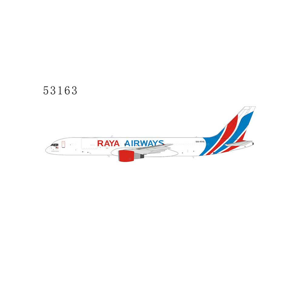 Raya Airways 757-200PCF 9M-RYA n/c 1:400