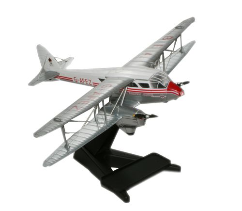 British European Airways, de Havilland DH.89A Dragon Rapide G-AFEZ (1:72), Oxford Diecast 1:72 Scale Models Item Number 72DR001