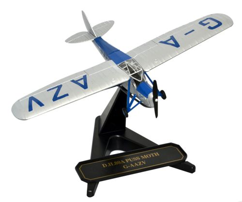 de Havilland DH.80A Puss Moth Jason II, G-AAZV, Aviatrix Amy Johnson (1:72) New Mold!