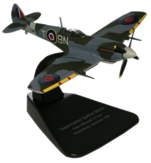 Spitfire Mk.IXe Lady Jane, Peter Hillwood, No. 127 Squadron, 1944 (1:72), Oxford Diecast 1:72 Scale Models Item Number AC016