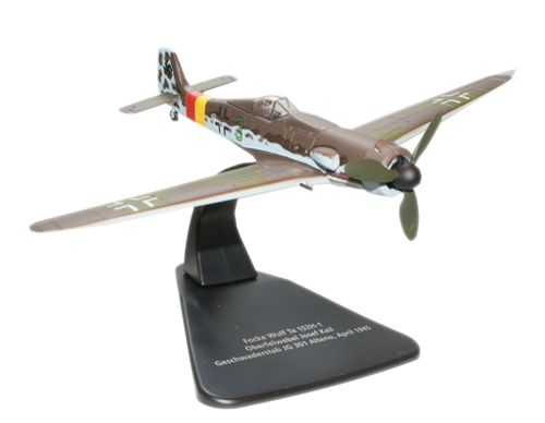 Focke Wulf Ta-152H-1, Ofw. Josef Keil, Stab./JG 301, April, 1945 (1:72), Oxford Diecast 1:72 Scale Models Item Number AC028