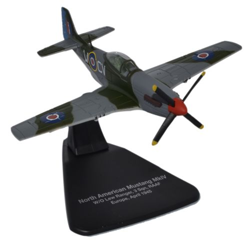 "North American Mustang Mk.IV ""Lew"" Ranger, 3 Squadron, Royal Australian Air Force, Europe, 1945 (1:72), Oxford Diecast 1:72 Scale Models Item Number AC060"