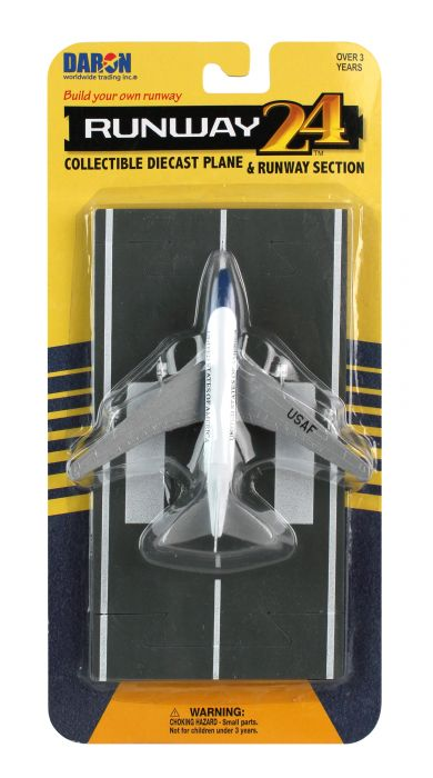 "Air Force One 747 (VC-25) (Approx. 5"") by Runway 24 item number: RW015"
