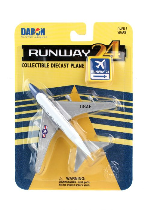 "Air Force One 747 (VC-25) (Approx. 5"") by Runway 24 item number: RW800"