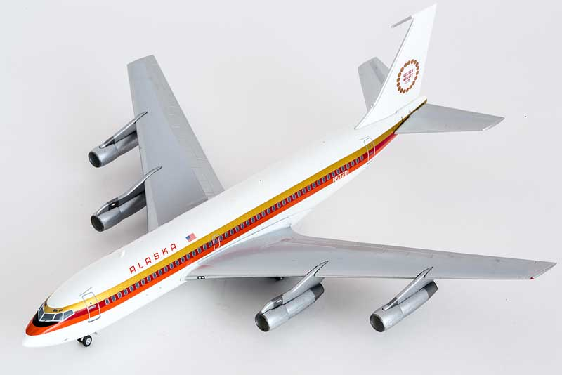 "Alaska 720 ""Golden Nugget Jet"" N75201 (1:200), Seattle Models Item Number SM2-005-027-01"