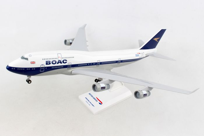British Airways 747-400 BOAC 100th Anniversary Livery G-BYGC (1:200) by SkyMarks Airliners Models item number: SKR1015