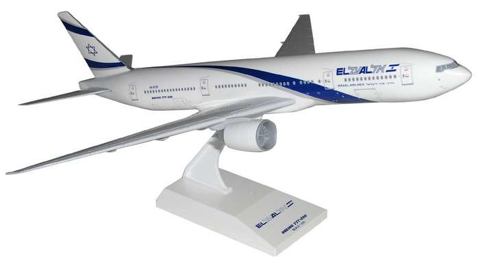 El Al B777-200 (1:200), SkyMarks Airliners Models Item Number SKR148