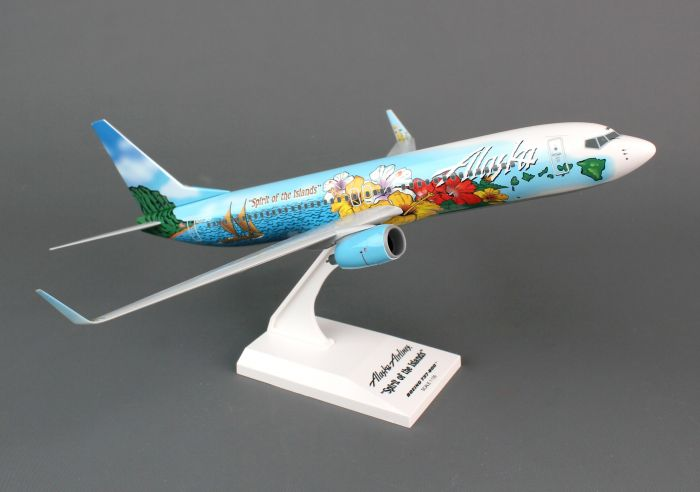 Alaska 737-800 (1:130) Spirit Of Islands by SkyMarks Airliners Models item number: SKR741