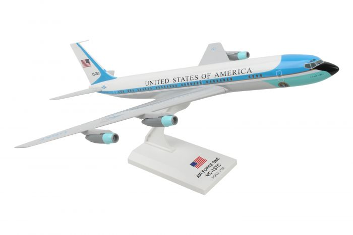Air Force One USAF VC-137 (1:150) 707-300 Reg: 26000 JFK by SkyMarks Airliners Models item number: SKR756