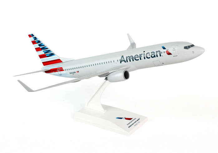 American 737-800 (1:130) New Livery, SkyMarks Airliners Models Item Number SKR759