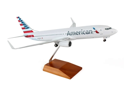 American 737-800 (1:100) New Livery, Skymarks Supreme Desktop Aircraft Models Item Number SKR8244