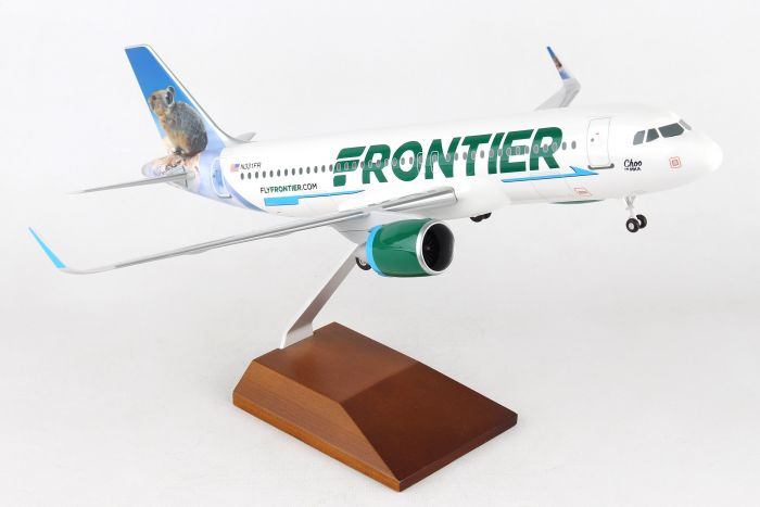 Frontier A320neo (1:100) Choo The Pika by Skymarks Supreme Desktop Aircraft Models item number: SKR8350