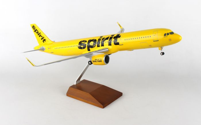 Spirit A321 Neo (1:100) by SkyMarks Airliners Models item number: SKR8406