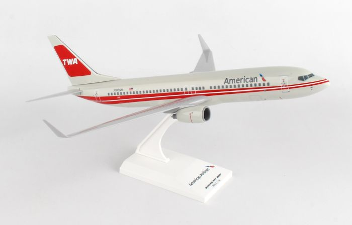 American 737-800 TWA Retro Colors (1:130) by SkyMarks Airliners Models item number: SKR897