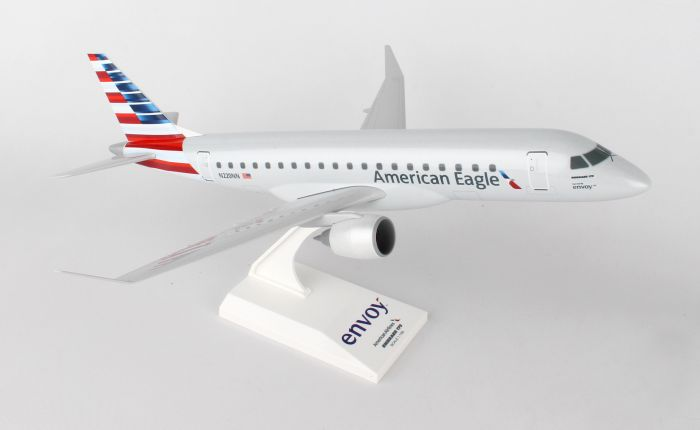 "American Eagle RJ-175 ""Envoy Airlines"" (1:100) by SkyMarks Airliners Models item number: SKR902"