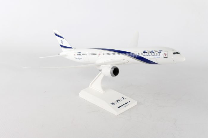 El Al 787-9 (1:200) by SkyMarks Airliners Models item number: SKR908