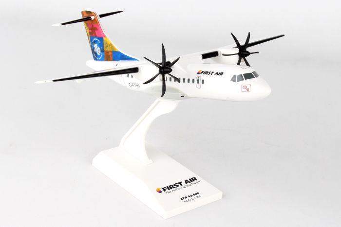 First Air ATR-42-500 70th Anniversary C-FTIK (1:100) by SkyMarks Airliners Models item number: SKR912