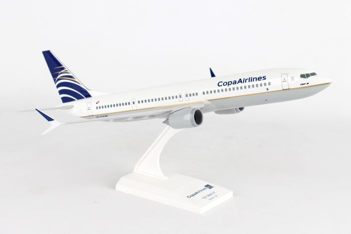 Copa Airlines 737-MAX 9 (1:130) by SkyMarks Airliners Models item number: SKR918