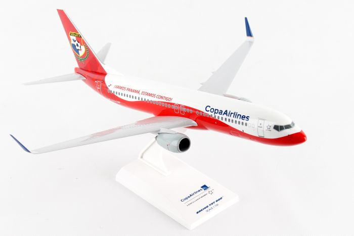 "Copa Airlines 737-800 ""Fepafut"" HP-1534CMP (1:130) by SkyMarks Airliners Models item number: SKR926"