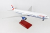 British Airways 777-300 With Wood Stand & Gear 1:100 by Skymarks Supreme Desktop Aircraft Models item number: SKR9400