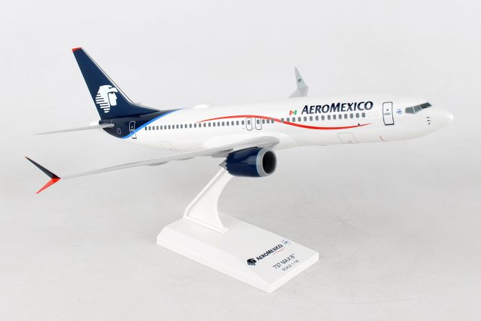 AeroMexico 737-Max8 New Livery (1:130) by SkyMarks Airliners Models item number: SKR958