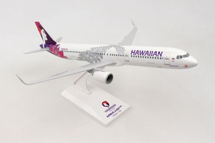 Hawaiian A321Neo New Livery 1:150 by SkyMarks Airliners Models item number: SKR990