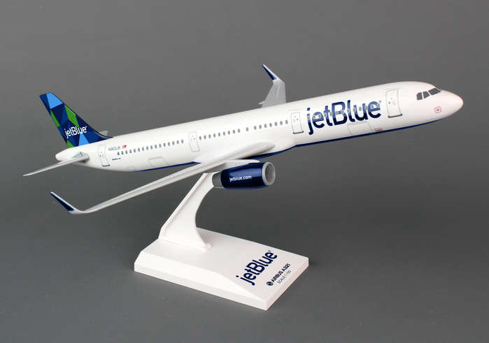 Jet Blue A321 (1:150) Mint Tail, SkyMarks Airliners Models Item Number SKR778