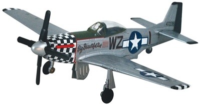 P-51 Mustang Toy,P-51 Mustang with Retractable Gear,1/48 scale P-51 Mustang