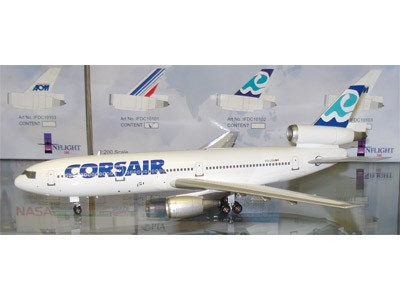 "Corsair DC-10 Reg OO-LRM ""Socatec Exclusive"" (1:200)"