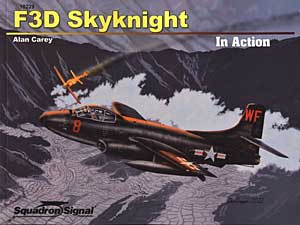 F3D Skyknight in Action, Squadron Signal Publications Item Number SS10229