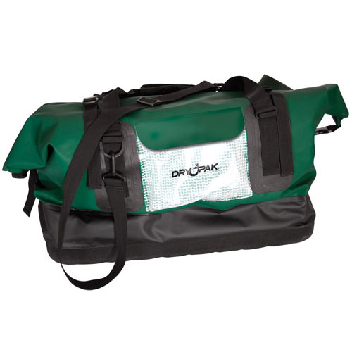 XL Waterproof Duffle Bag, Green by DryPak, Item Number DP-D2GR