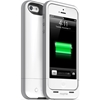 mophie Juice Pack Plus for iPhone 5, White