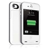 mophie Juice Pack Plus for iPhone 4/4S, Whit, Mophie Item Number MO-2140-JPP-GRY