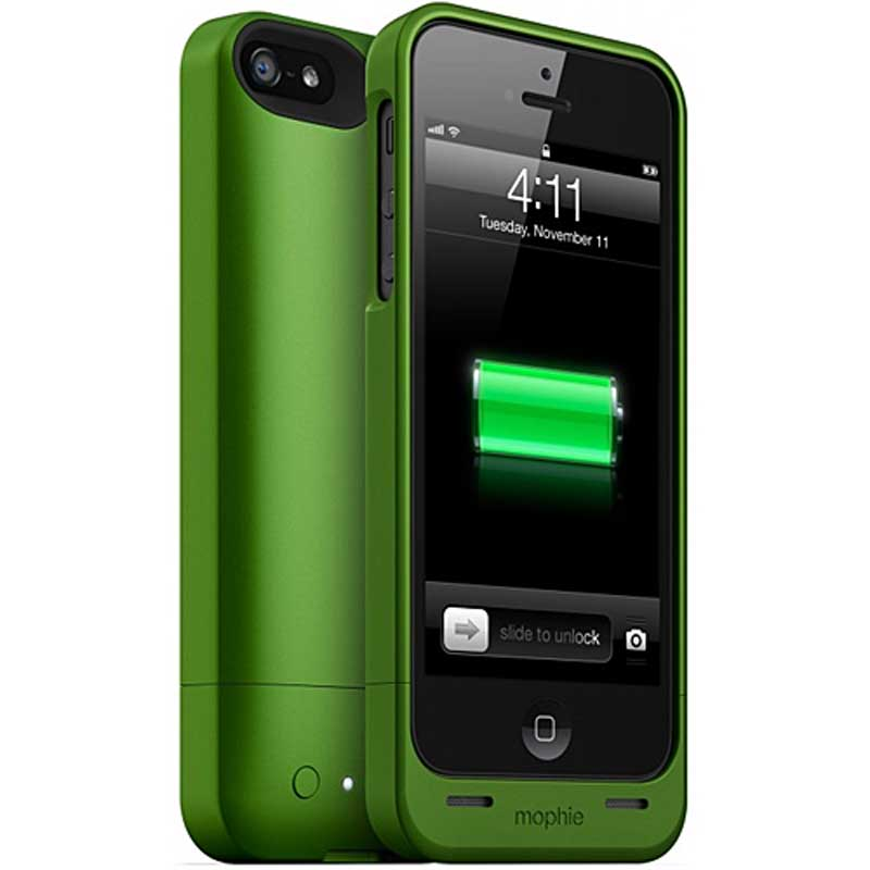 mophie Juice Pack Helium for iPhone 5, Green