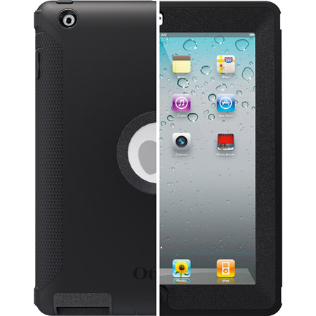 Apple New iPad/iPad 2, Defender Case, Black by OtterBox, Item Number OB-APL2-77-18640