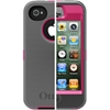 Apple iPhone 4/4S Defender Case Pink/Grey by OtterBox, Item Number OB-APL2-77-18748