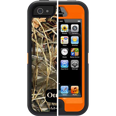 Apple iPhone 5 Defender Case Max 4HF Blaze, OtterBox Item Number OB-APL2-77-22527