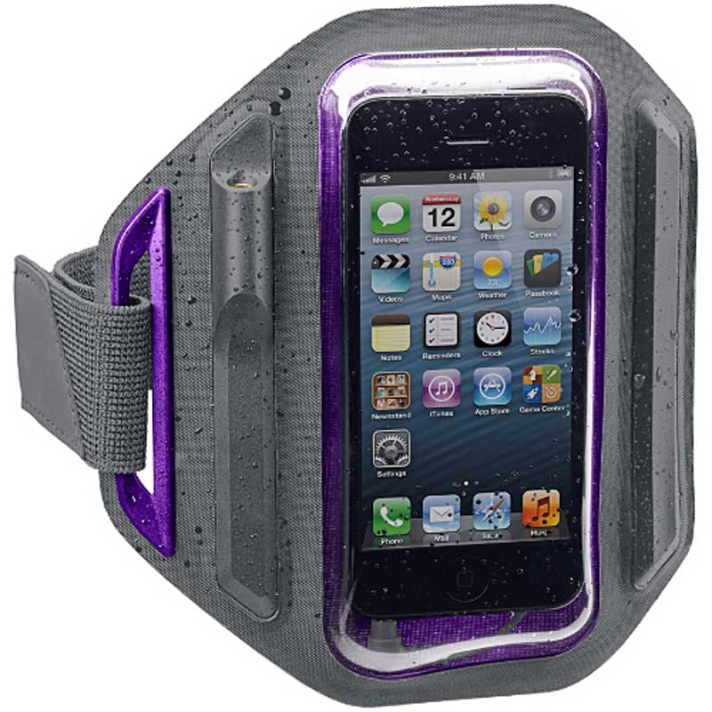 X-1 Momentum Armband - Purple by H2O, Item Number X1-MM-AB1-PE