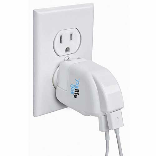 Power Share Dual USB Charge Adapter