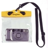 "Camera Case, 6"" x 5"" x 1 1/2"", Yellow/Clear by DryPak, Item Number DP-65C"