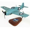 F-4F Wildcat as flown by Joe Foss (1:28), TMC Pacific Desktop Airplane Models Item Number AF4FF