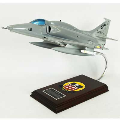 A-4F Skyhawk USMC (1:32), TMC Pacific Desktop Airplane Models Item Number CA04MTE